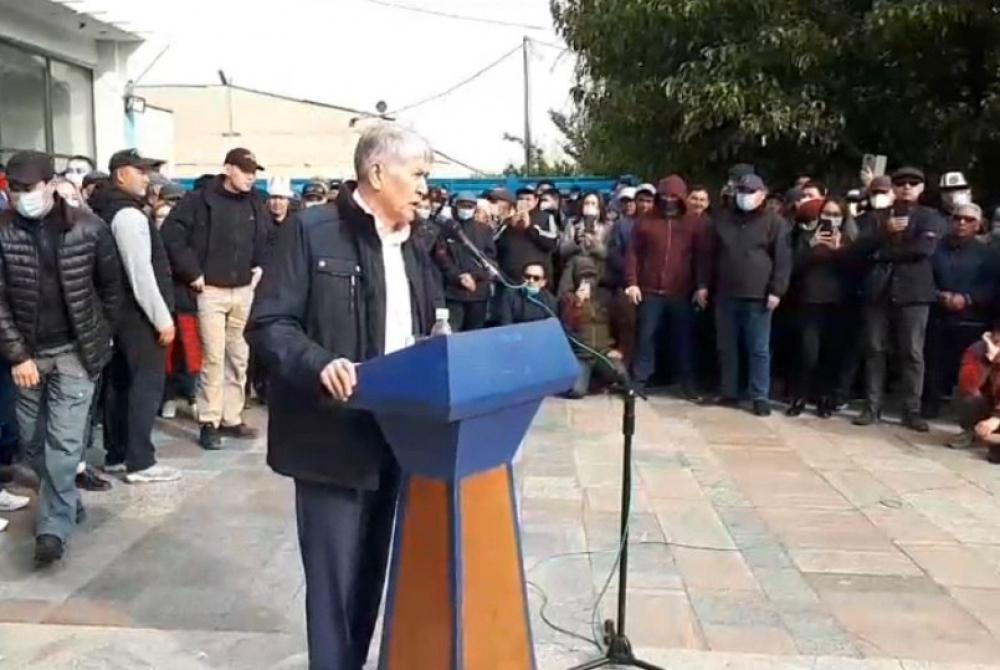 Алмазбек Атамбаев: Я прошу прощения у всего народа Кыргызстана